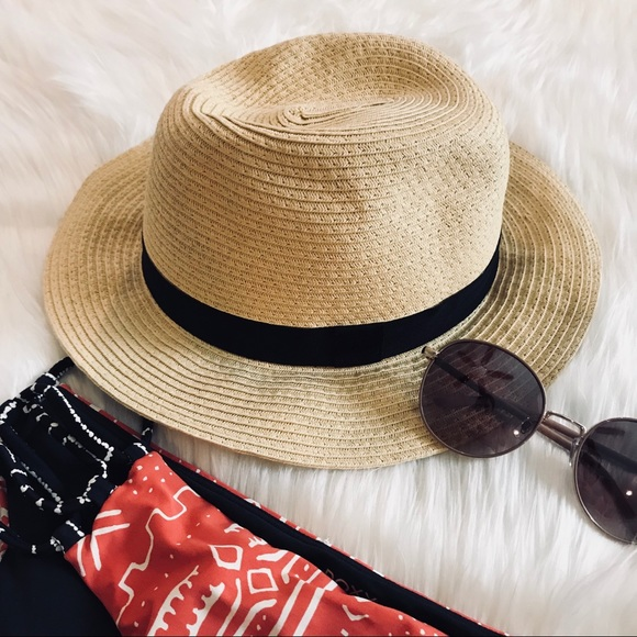 a515d57913f13 Straw Fedora Hat by The Hatter Company. M 5b345de9df0307bc5cde4018. Other  Accessories ...